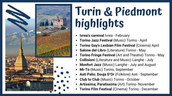 Turin&Piedmont highlights