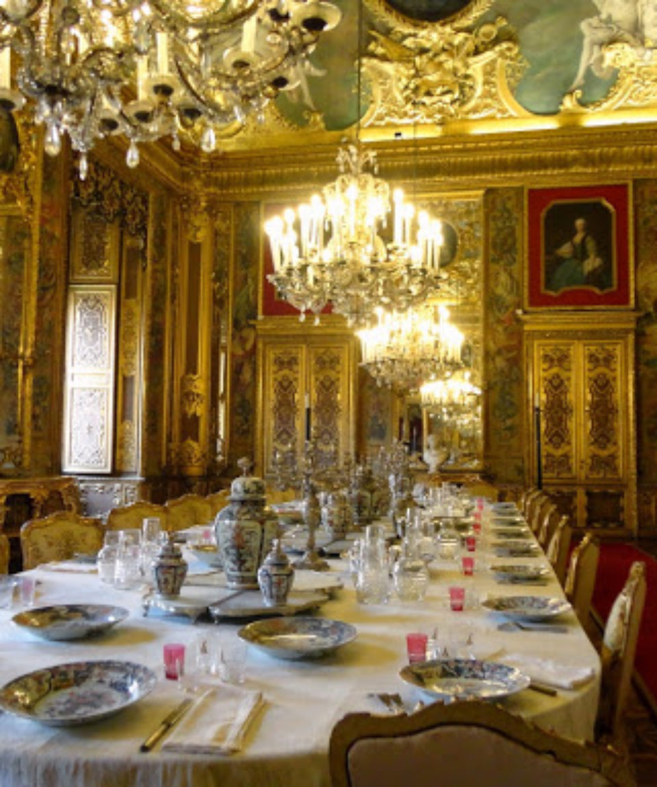 sala pranzo palazzo reale torino